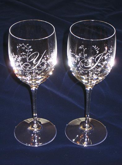 千葉県佐倉市グラスリッツェン工房Sorrisoペアワイングラス